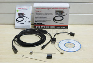 1/2/3.5/5m Android OTG Mirco USB Endoscope 9mm Waterproof Endoscope Inspection Snake Camera pictures & photos