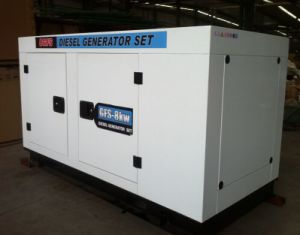Water Cooled Silent Type Diesel Generator 30kw pictures & photos