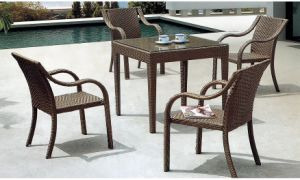 PE Rattan Furniture Outdoor Wicker Furniture Dining Set pictures & photos
