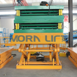 Fixed Electric Hydraulic Scissor Lift Table pictures & photos
