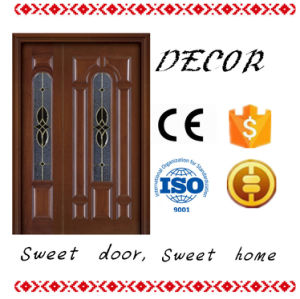 Sliding Open Style and Entry Doors Type Carving Wood Door