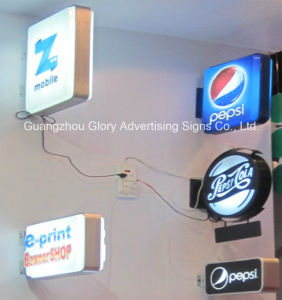 LED Sign Advertising Indoor and Outdoor LED Light Box pictures & photos