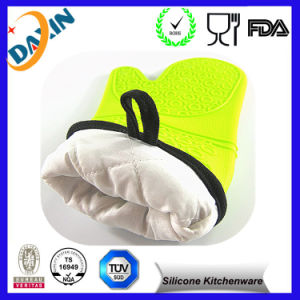 Silicone Heat Resistant Grilling BBQ Glove Silicone Heat-Resistant BBQ Gloves pictures & photos