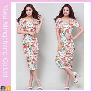 2016 Wholesale Bandage Dress Comfortable Floral MIDI Bandage Dress pictures & photos