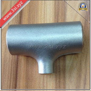 304 Stainless Steel Welded Reducing Tee (YZF-F335) pictures & photos