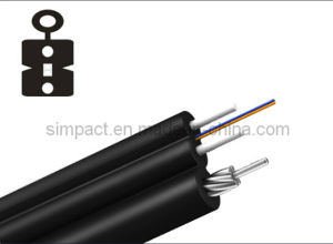 UL/CE/RoHS Two Core Butterfly Indoor FTTH Fiber Optic Cable pictures & photos