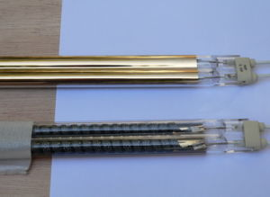 Gold Reflector Carbon Infrared Lamp pictures & photos