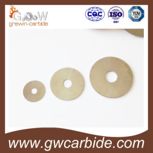 Carbide Round Cutting Disc Ys2t Yl10.2 Yg15X pictures & photos