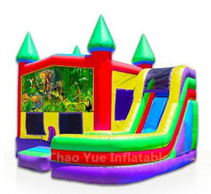 Multi Color Inflatable Combo Bounce House with CE Blower (CYBC-577) pictures & photos
