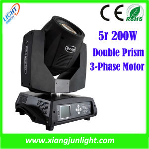 Clay Paky Stage Light Moving Head Stage Lighting Sharpy 200 5r Beam Moving Head Light pictures & photos