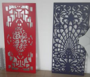 PVDF Painted Aluminum Sheet with Perforation for Decorative
