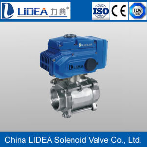 Hot Sale Electric Screw Type Ball Valve for Water Treatment