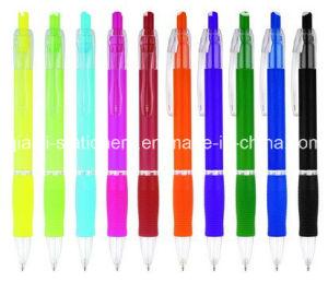 Cheap Plastic Promotion Ballpoint Pen (P3009B) pictures & photos