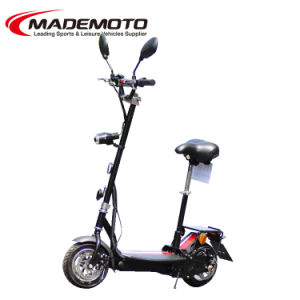 Cheap 36V Lithium Battery 500W Brushless Electric Scooter pictures & photos