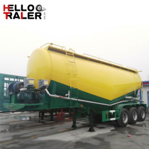 China Manufacture High Quality 3 Axles 60m3 Bulk Cement Tanker Trailer pictures & photos