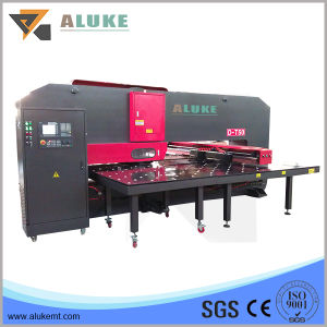 Steel Sheet Turret Punching Machine for Small Plate pictures & photos