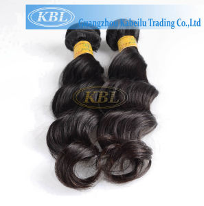Peruvian Loose Wave Human Hair Weft pictures & photos