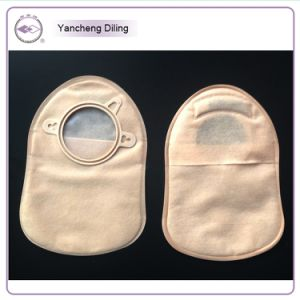 Non-Woven Material Outside Colsed 2-Parts Type Colostomy Bags pictures & photos