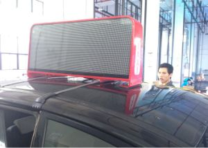 Full Color P5 Taxi LED Display with 3G Controller pictures & photos