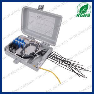1*16 PLC Splitter IP65 Outdoor FTTH Fiber Optic Distribution Box, FTTH Box pictures & photos