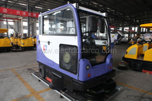 Battery Operated City Road Sweeper Machine pictures & photos