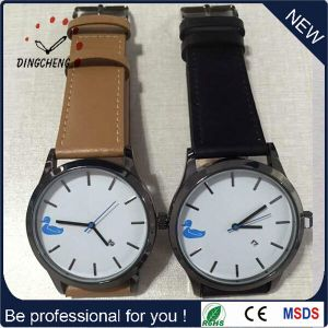 Tan Leather Strap Watch, Men′s Watch (DC-329) pictures & photos