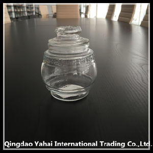 240ml Little Food Glass Storage Bottle with Glass Lid pictures & photos