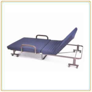New Design Adjustable Folding Bed /Cot (Blue) pictures & photos