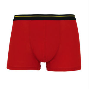 Zn-020 Cheap Customize Bamboo /Spandex Knitted Breathable Mens Boxers pictures & photos
