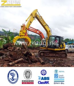 Excavator Magnetic Lifter Crane Grab for Cast Iron pictures & photos