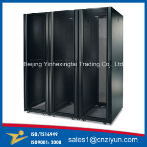 Customized Metal Network Cabinets with Trolley pictures & photos