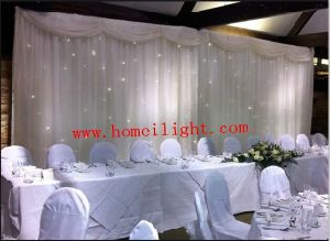 3*4m LED Star Curtain with CE White pictures & photos