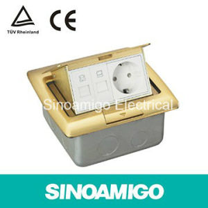 Brass Floor Boxes Power Receptacle Outlet pictures & photos