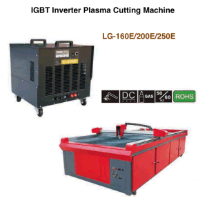 IGBT Inverter Plasma Cutting Machine / Plasma Cutter / CNC Plasma Cutting Machine / LG-160e/200e/250e