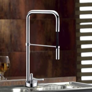 Brass Kitchen Faucet with Cupc Cartridge pictures & photos