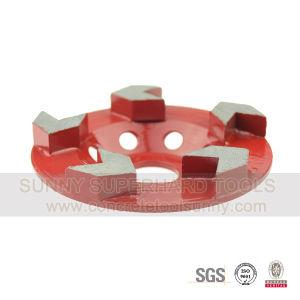 Arrow Diamond Grinding Cup Wheel for Stone Concrete Terrazzo pictures & photos