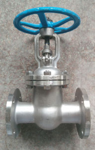 GB Stainless Steel 304/316 Flanged Gate Valve pictures & photos