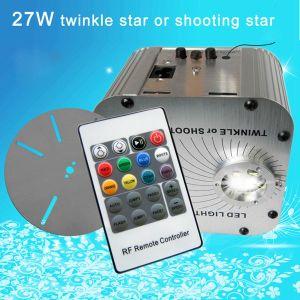 27W RGB RF Remote, Shooting or Twinkle Star Effect, Plastic Optic Fiber Engine