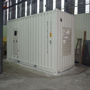 1500kVA Super Soundproof Container Diesel Generator with Free-Maintainace Battery