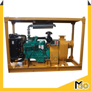 Diesel Centrifugal Self Priming Sewage Pump pictures & photos
