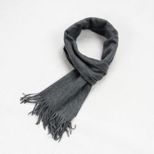 Grey Men′s and Women′s General Cashmere Scarf CD20dl pictures & photos