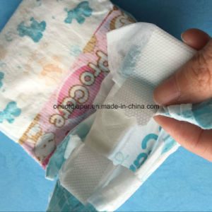 Disposable Baby Diapers in Magic Tape