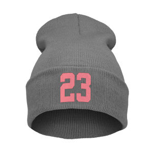 Embroidery Logo Cotton Knitted Beanie Hat pictures & photos