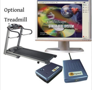 ECG Stress Test System Holter with Treadmill Cardiac Stress Exercise pictures & photos
