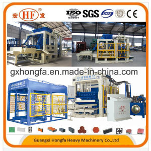 Cement Automatic Paver Brick Making Machine Full Automatic Concrete Cement Brick Hollow Block Making Machine pictures & photos