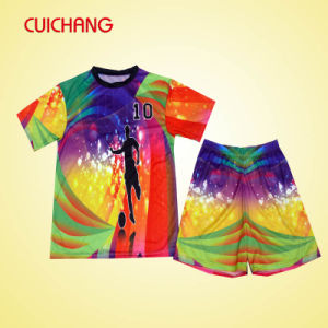 Custom Design Sublimated Soccer Jersey pictures & photos