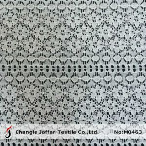 Eco-Friendly Jacquard Lace Fabric for Sale (M0463) pictures & photos