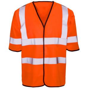 Short Sleeved High Vis Vest with En20471 (C2504) pictures & photos