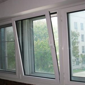 Tilt and Turn Window with Window Internal Blinds (TS-1144) pictures & photos