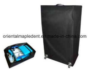 Luxury Folding Portable Dental Chair Unit with Operating Light pictures & photos